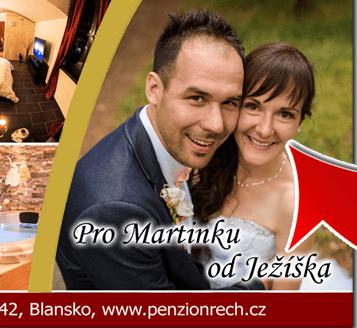 Dárkové poukazy na ubytování v Moravském krasu