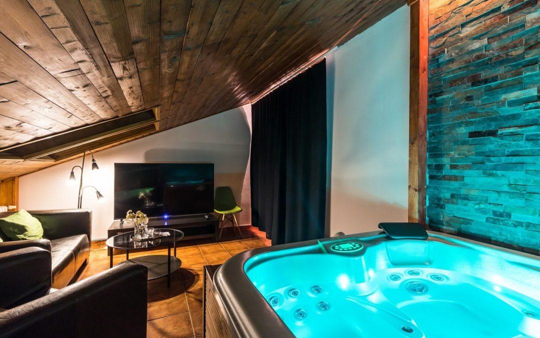 Podkrovní wellness apartmá